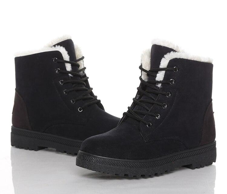Women's High Heels Plush Winter Boots 36