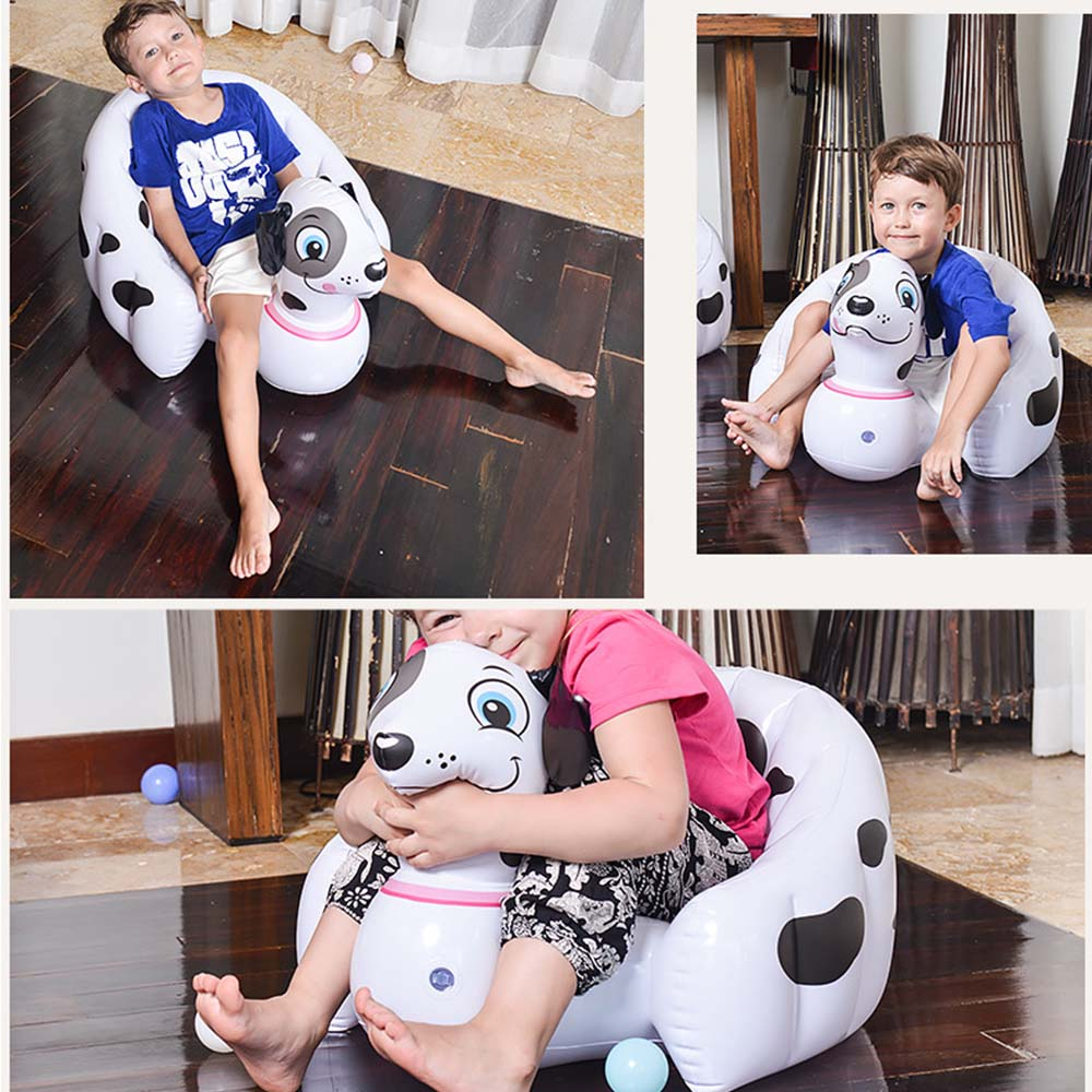 Portable Baby Children Inflatable Chair Toy Beach Bathroom Pool Sofa Chair Seat Kids Learning Swimming anti-skid Play Water Toy