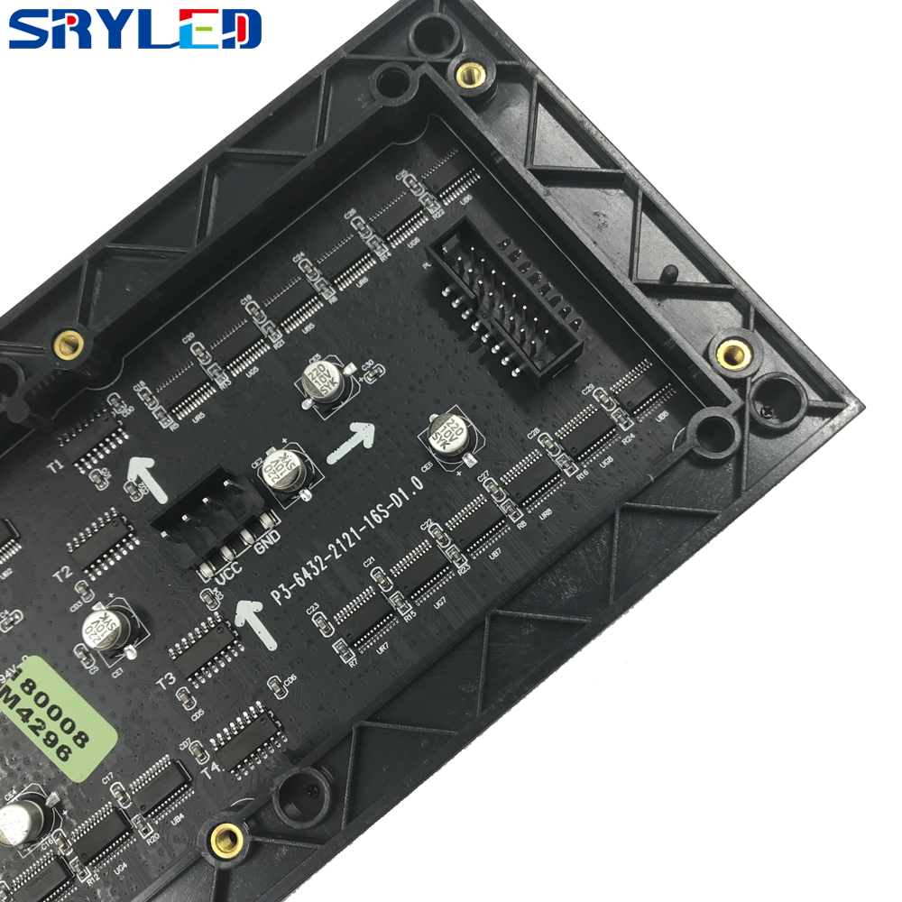 P3 RGB Pixel Panel HD Display 64x32  Dot Matrix P3 Smd Rgb Led Module