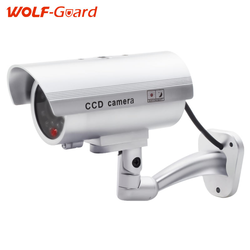 Étanche Factice CCTV Caméra Avec Clignotant LED Pour Extérieur ou Intérieur Réaliste Recherchez Fausse Caméra pour La Sécurité