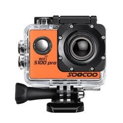4K sporty wifi kamera akcji SOOCOO S100 Pro HD wodoodporna kamera dv 20MP 170 stopni szeroki kąt 2 cal LCD 2.4GHz pilot zdalnego