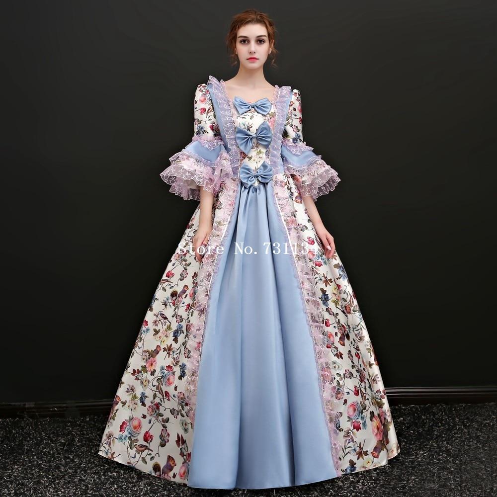 Bildals Bild Walzer Rekonstitutionstheater Maskerade aus Antoinette Kolonial Marie dem Kleid als 17Jahrhundert Barock cA35q4LRj