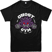 Pokemon Go T Shirt Ghost Gengar Gymer Inspired Design Top 2017 Men S Brand Clothing O