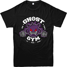 Pokemon Go T-Shirt, Ghost Gengar Gymer Inspired Design Top 2017 Men'S Brand Clothing O-Neck Cute Tatoo Lover T Shirt