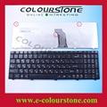 Ru negro teclado del ordenador portátil para lenovo g560 g565 teclado 25-009969