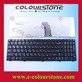 Ru preto do teclado do portátil para lenovo g560 g565 teclado 25-009969