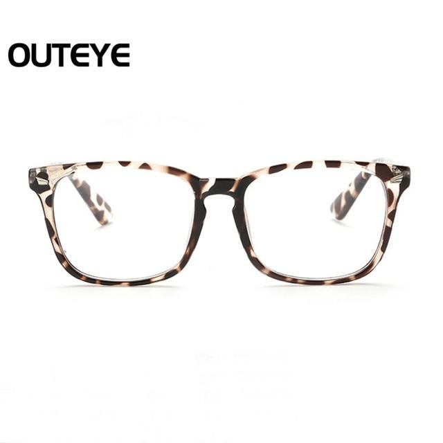 efb2e191cd1448 Retro Optische Bijziendheid Bril Fashion Clear Lens Eyewear Nerd Eye Glas  Frame Transparante Computer Brillen Frame