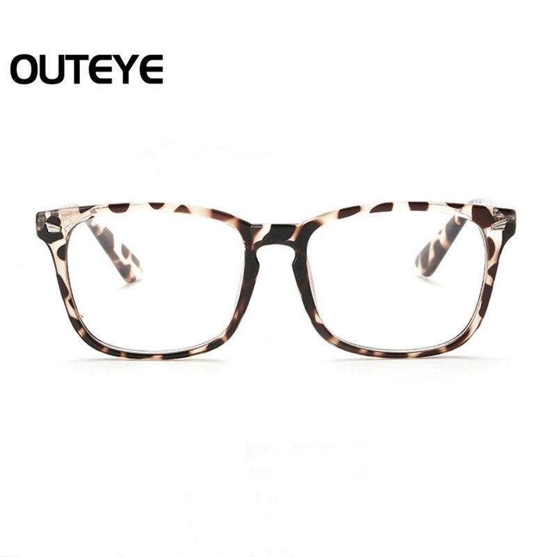 Retro óptica miopía Gafas moda claro lente gafas nerd ojo Marcos ...