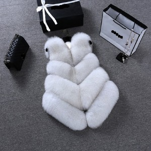 Image 2 - ZADORIN Gilet en fausse Fourrure de renard pour femmes, luxe, grande taille, manteau en fausse Fourrure, court, automne hiver