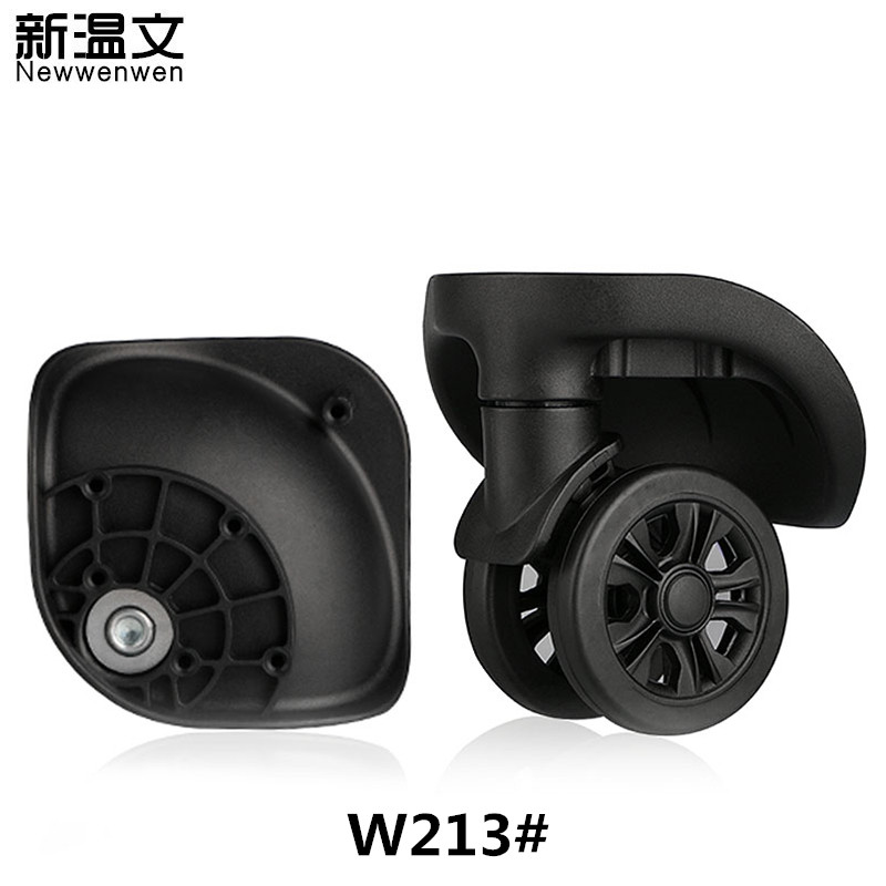 Replacement Luggage Wheels,Repair Trolley Suitcase parts Travel Luggage,wheels for suitcases W213# replacement wheels for luggage repair trolley luggage side wheels suitcase wheels repair wheels for suitcases w047