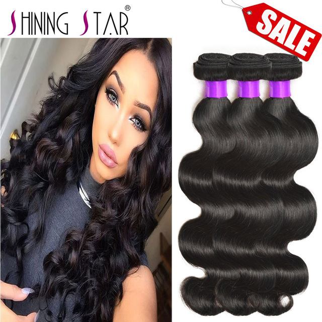 Wet N Wavy Virgin Brazilian Body Wave Hair 3 Bundles Human Hair