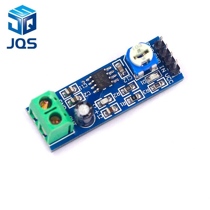 1PCS LM386 Audio Amplifier Module 200 Times 5V-12V Input 10K Resistance1PCS LM386 Audio Amplifier Module 200 Times 5V-12V Input 10K Resistance