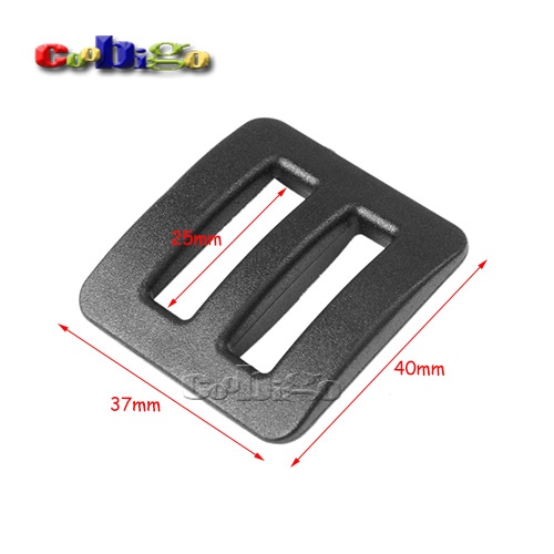 Apparel Sewing & Fabric Humorous 100pcs Pack 1 Webbing Plastic Strong Tri-glide Slider Adjustable Buckle Hardware For Outdoor Backpack Apparel Straps #flc454-b Ideal Gift For All Occasions
