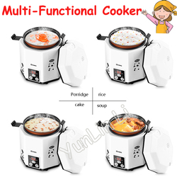 1.2L Mini Rice Cooker Intelligent Multi Cooker Time-Appointment Electric Cooker Suitable for 1-2 People CFXB12-200B