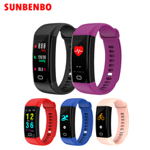 Color Screen F07 Sport Smart Band Waterproof Heart Rate Fitness bracelet with Blood Pressure Oxygen Monitor Sport wristband Hot