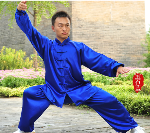 Tai Chi Clothes Micro Elastic Fabric Taiji Uniform Men And Women  Kung Fu,martial Art Suit  Chinese Stly