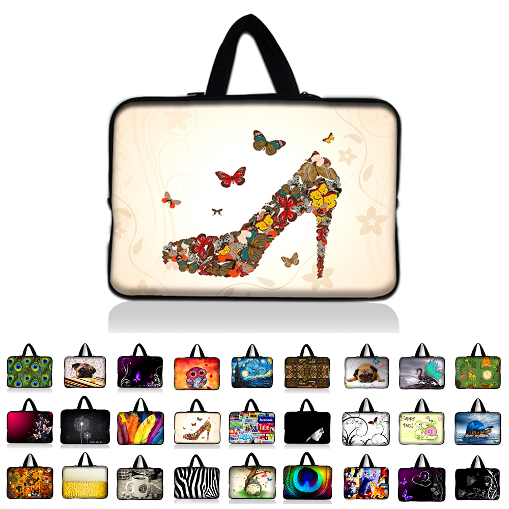 9.7 10 10.1 11.6 12 13 13.3 14 14.4 15 15.6 17 17.3 inch laptop bag netbook sleeve case notebook cover pouch For HP ASUS Acer