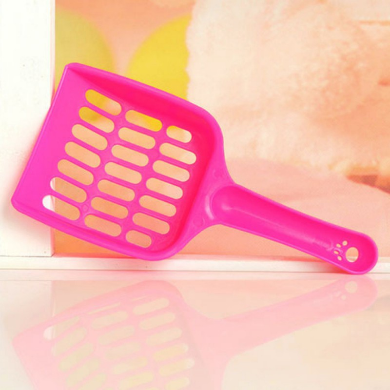 New 1 Pcs Useful Cat Litter Shovel Pet Cleanning Tool Plastic Scoop Cat Sand Cleaning Products Toilet For Pet Dog Food Spoons Y6 #5