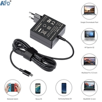 KFD 5 20V Output 45W USB C Charger Wall Mount For Chrome Book Ultra Pixel