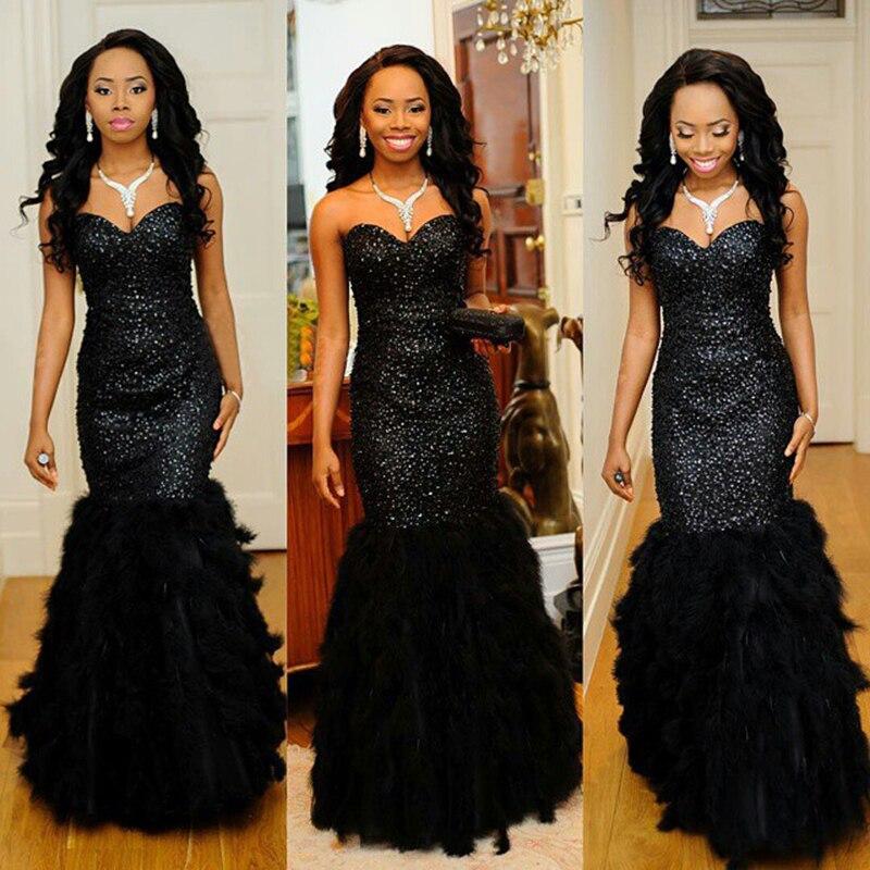 Feather Prom Dresses - Vosoi.com