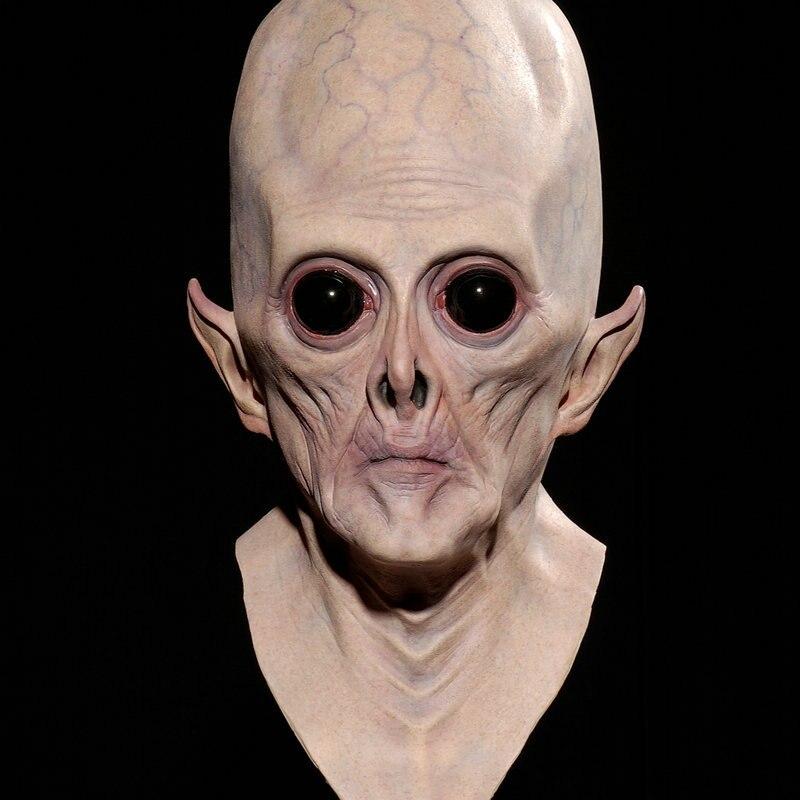 halloween big eyes alien face mask devil halloween cosplay props latex maskchina mainland - Alien Halloween Masks