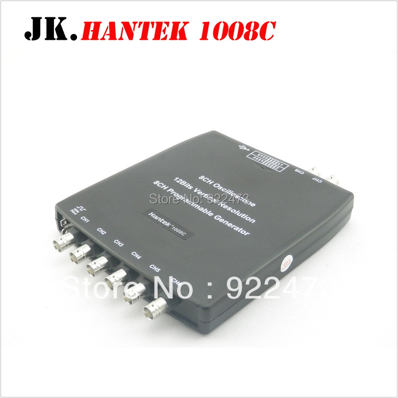 H051 Hantek1008C 8CH USB Auto Scope/DAQ/8CH Generator Automotive Diagnostic Oscilloscope Hantek 1008C mk 1008 фигурка мышь h 10см 1 асс