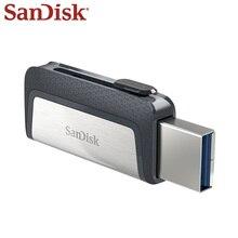 SanDisk USB Flash Drive 32GB 64GB 128GB 256GB USB3.1 Dual Interface OTG Flash Drive Type-C High Storage USB Flash Disk Pen Drive