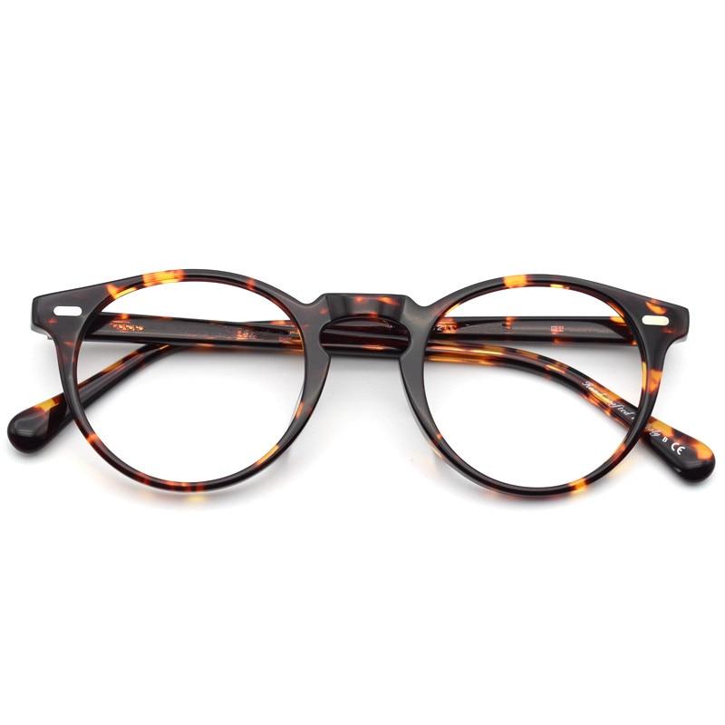 Vintage Optische Gläser Rahmen Gregory Peck Retro Brillen Für Männer ...