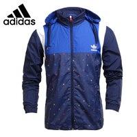 Original New Arrival 2016 Adidas Originals Block It Out Windbreaker Men S Jacket Hooded Sportswear Free