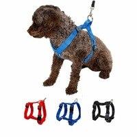 Pet Nylon Harness Adjustable Safe Control Restraint Cat Puppy Dog Harness Soft Walk Vest Blue Red
