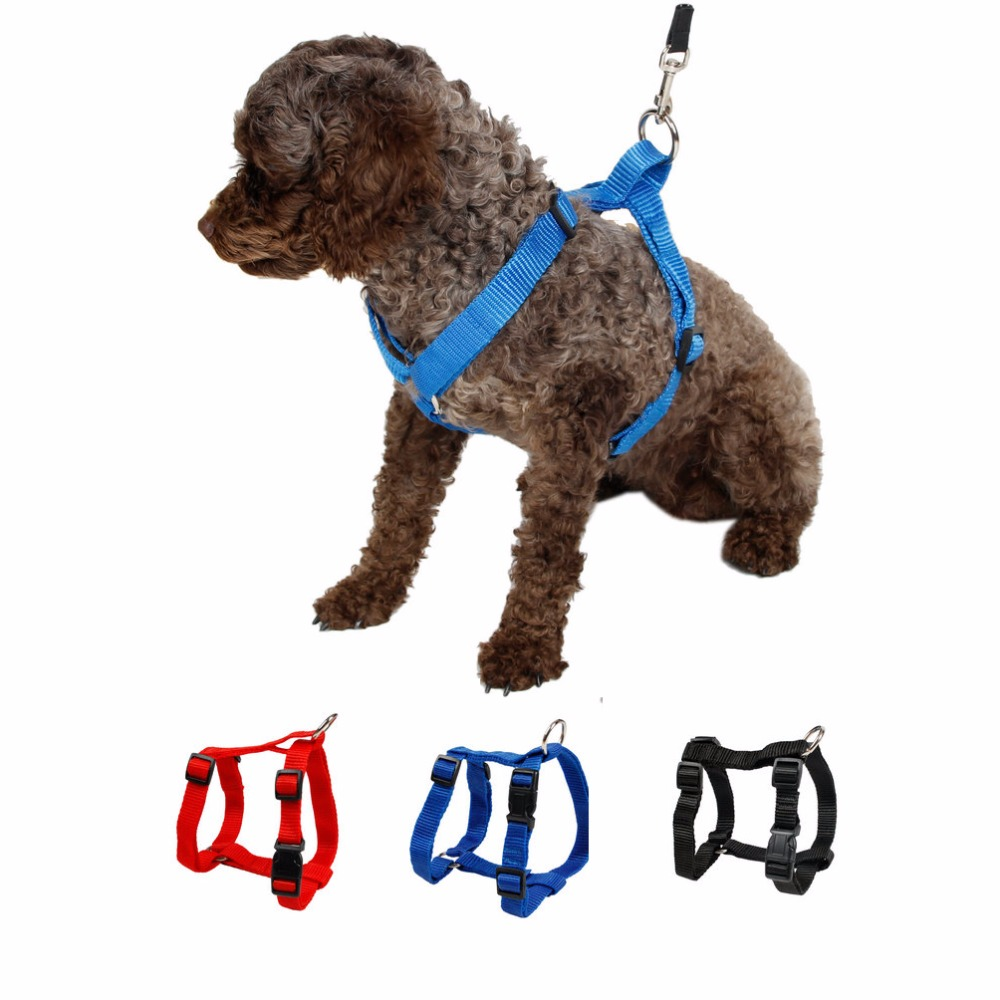buy pet harness nylon adjustable safety control restraint cat puppy dog harness. Black Bedroom Furniture Sets. Home Design Ideas