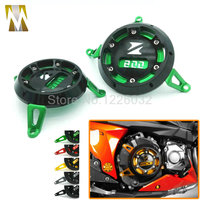 Black Red Golden Green Titanium Motorcycle CNC Aluminum Engine Stator Cover Engine Protective Cover For KAWASAKI