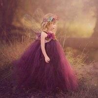 Princess Tutu Fairy tutu dress Flower fairy dress costume for Birthday Party Fairy festival costume dress Tulle Dress TT036K