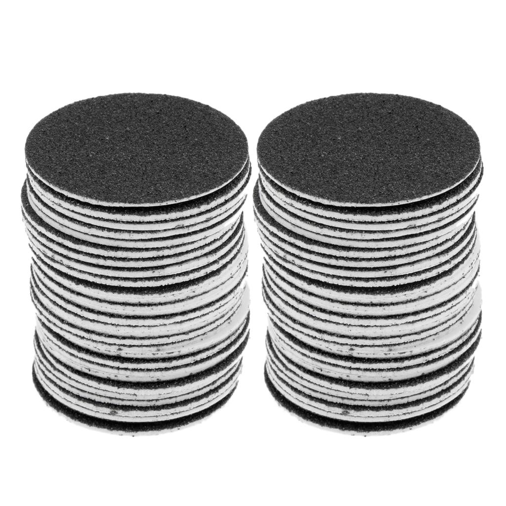 60pcs Replacement Sandpaper Discs Pad for Electric Foot File Callus Remover