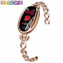 SYNOKE Smart Digital Watch Women Heart Blood Pressure Fitness Ladies Bracelet Waterproof Womens Watch Smartwatch Women Watches(China)