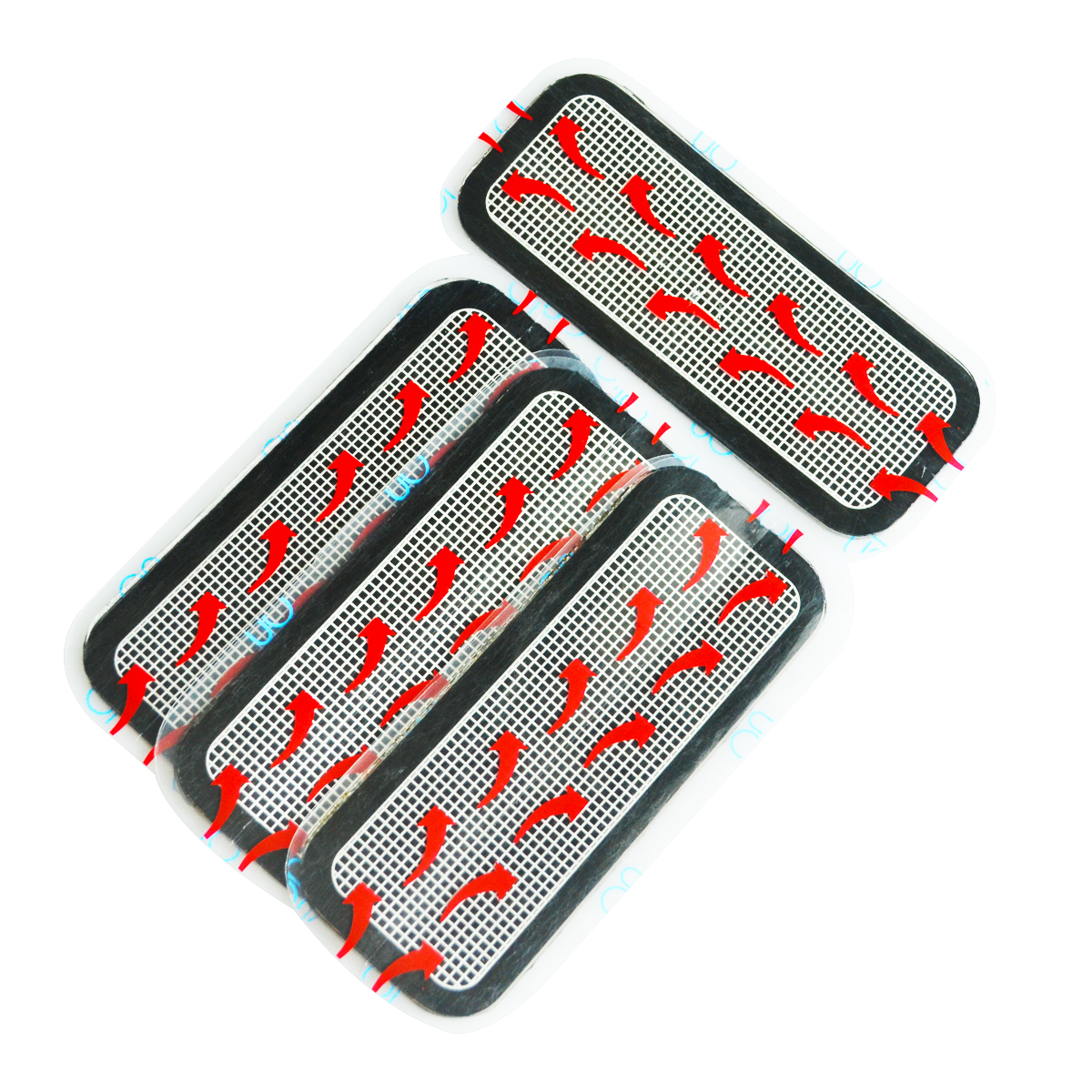 3 Packs of Buttock thigh Replacement Gel Pads massager pads