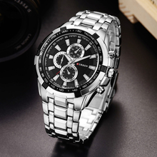 CURREN Watches Men quartz TopBrand  Analog  Military male Watches Men Sports army Watch Waterproof