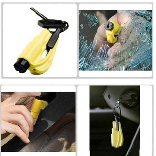 Car Styling Life Saving Hammer Emergency Rescue Tool Car