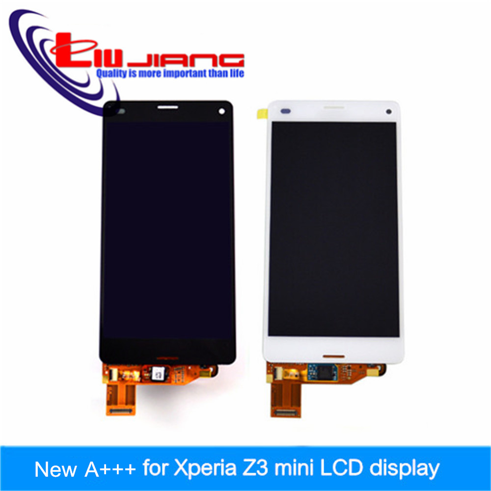 10pcs/lot High quality LCD For sony Xperia Z3 mini D5803 D5833 LCD Display + Touch Screen Digitizer Assembly DHL EMS 10pcs lot dhl ems high quality for sony