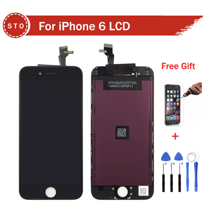 AAA Quality No Dead Pixel For iPhone 6 LCD Display font b Touch b font font