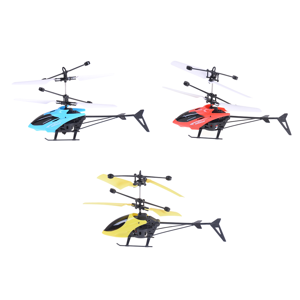 1PC Multi Style RC Infrared Induction Helicopter Aircraft