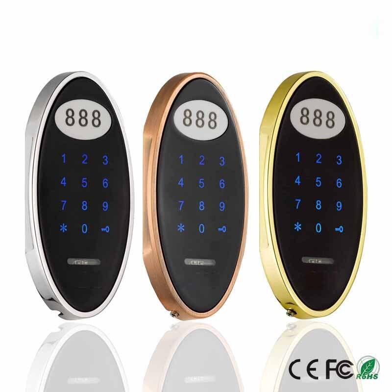 Wireless keyless Touch Keypad Password RFID Card Key Metal Digital Electronic Sauna Cabinet locker lock