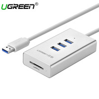 Ugreen Super Speed USB 3 0 3 Ports HUB With Multi In 1 2 Slots Card
