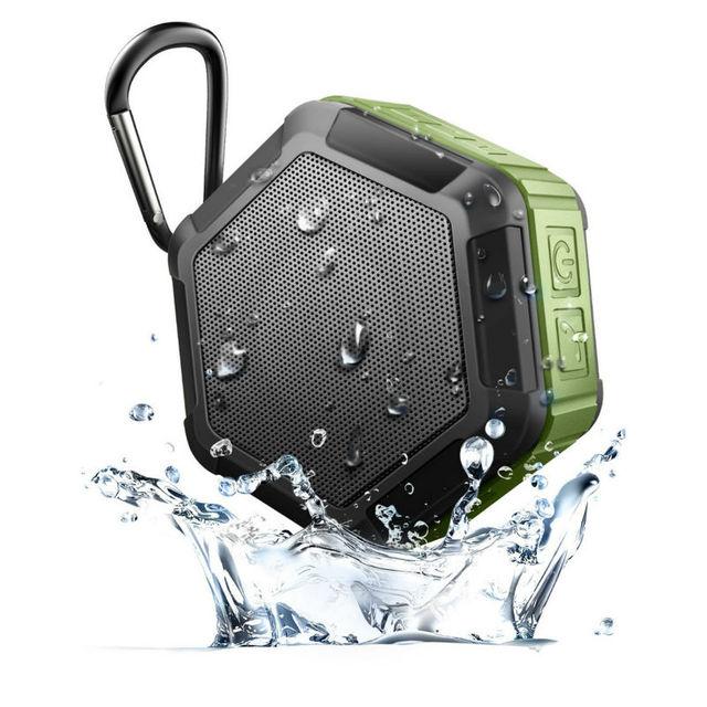 Falante estéreo bluetooth esportes ao ar livre à prova d' água sem fio super bass music player até 6 horas de tempo de jogo