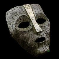 Máscaras de La Mascarada Veneciana Del Carnaval de la Reproducción de Películas Prop Loki Deadpool Memoria Tamaño Adulto de Halloween de La Cara Llena Máscara de Resina Verde
