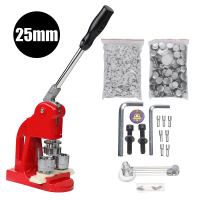 Button Maker Main button badge making machine including 1 1/2 25mm size mould+500 Plastic Badge Buttons Material