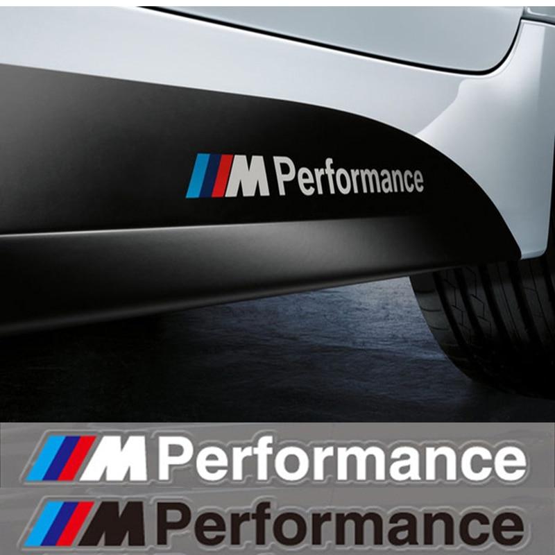 Car Styling 2x Newest Car Decoration M Performance