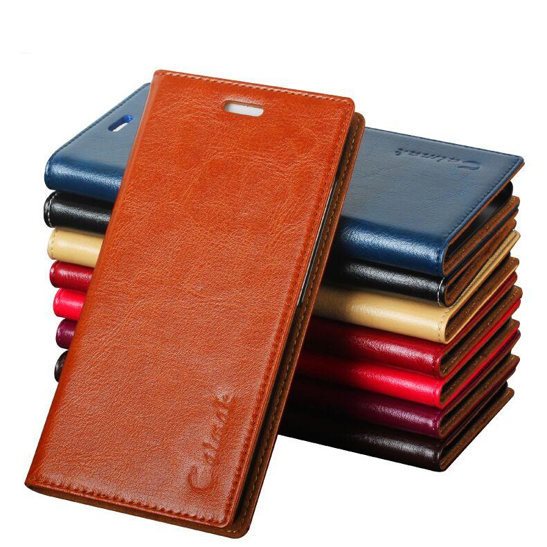 bilder für 8 Farbe, Hochwertigen Echten Natürlichen Leder Flip Standplatz-fall Für Xaiomi 5 Mi5 M5 Luxus Handytasche fällen