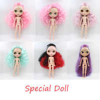 Special dolls, Blyth dolls multi-joint body 19 joint naked dolls DIY dolls, suitable for her to change clothes Series 7