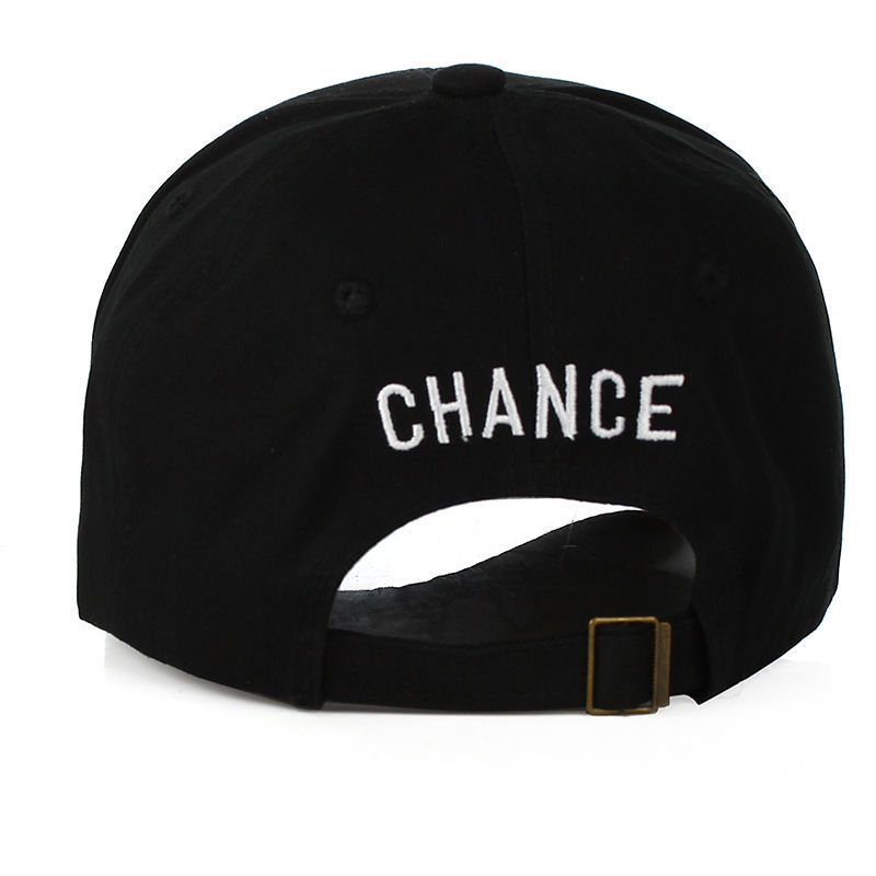 249771b3d12 New Chance The Rapper 3 Dad Hat Baseball Cap Adjustable Strapback BLACK  Baseball Caps-in Baseball Caps from Apparel Accessories on Aliexpress.com